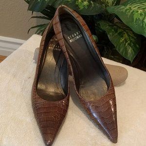 Authentic Stuart Weitzman kitten heels  - 5 1/2